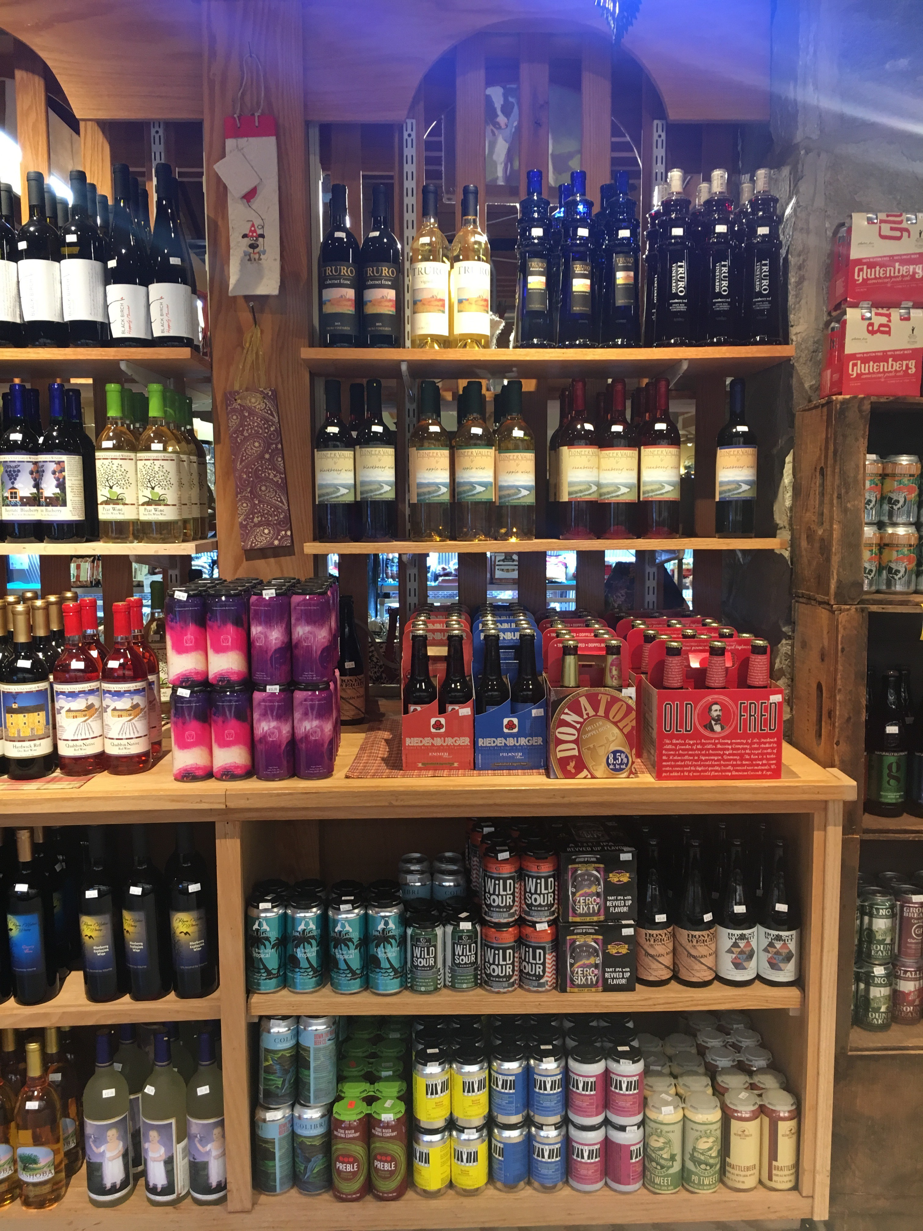 Atkins Beer and Wine Selection